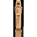 Резная балясина #106 из дерева