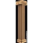 Резная балясина #21 из дерева