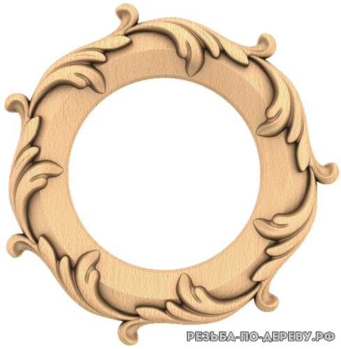 Розетка (661) из дерева