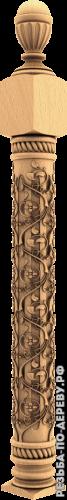 Резная балясина #101 из дерева