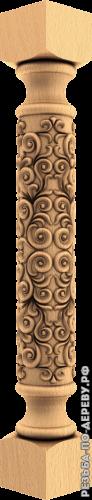 Резная балясина #102 из дерева