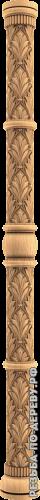 Резная балясина #105 из дерева
