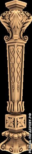 Резная балясина #109 из дерева