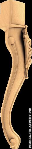 Резная балясина #110 из дерева