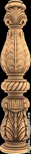 Резная балясина #113 из дерева