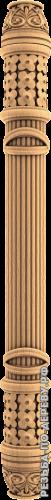 Резная балясина #117 из дерева