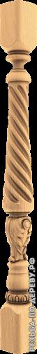 Резная балясина #118 из дерева