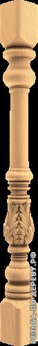 Резная балясина #119 из дерева