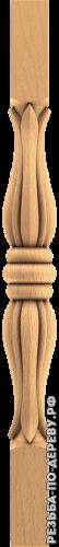 Резная балясина #130 из дерева