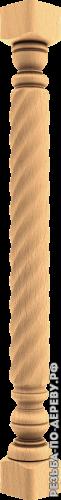 Резная балясина из дерева