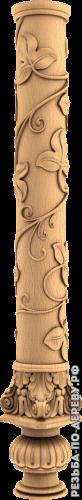 Резная балясина #34 из дерева