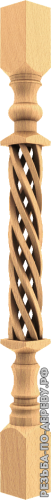 Резная балясина #5 из дерева