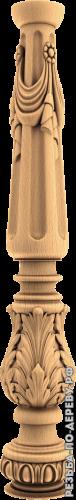Резная балясина #79 из дерева