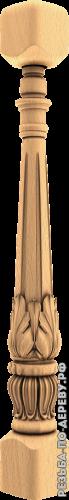 Резная балясина #81 из дерева