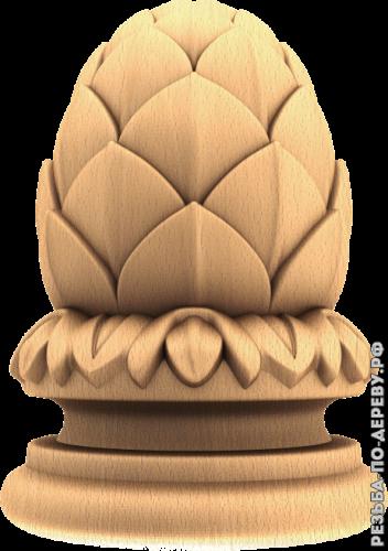 Резная балясина #88 из дерева