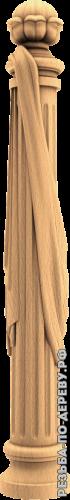Резная балясина #9 из дерева