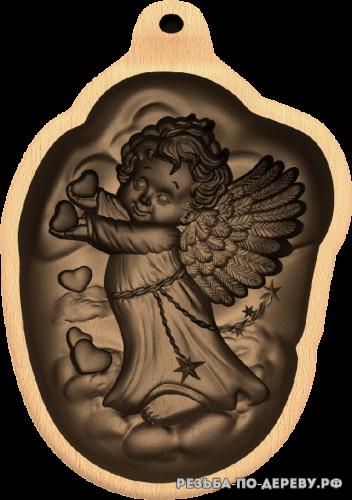 Ангел №32 из дерева