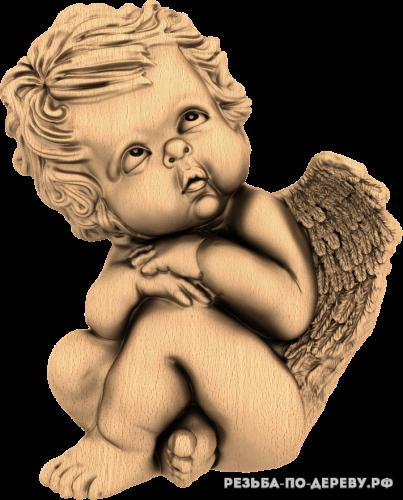 Ангел №33 из дерева