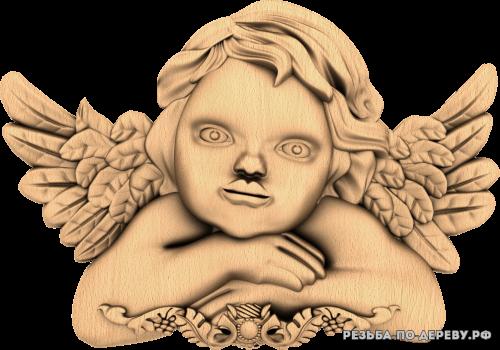 Ангел №35 из дерева