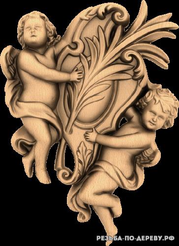 Ангел №36 из дерева