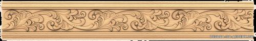 Багет №43 резной из дерева