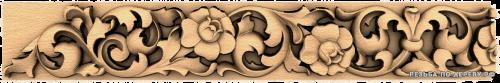 Багет №119 резной из дерева