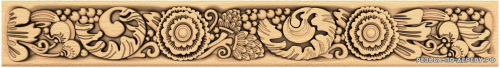Багет №97 резной из дерева