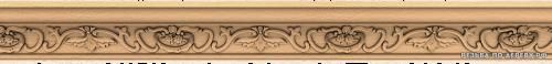 Багет №353 резной из дерева