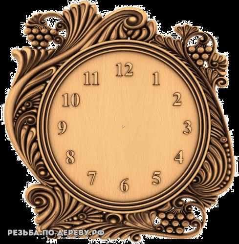 Резные Часы №15