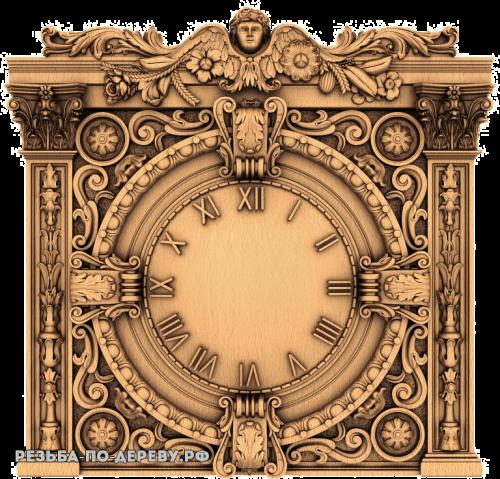 Резные Часы №16
