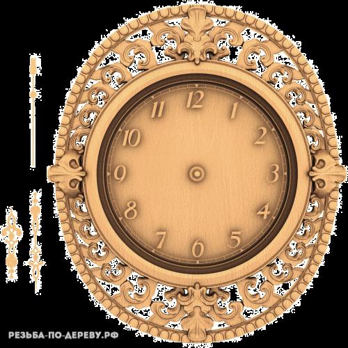 Резные Часы №9