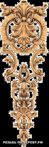 Резной Декор №810 из дерева