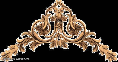 Резной Декор №790 из дерева