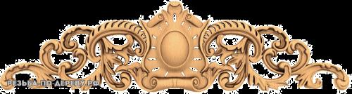 Резной Декор №740 из дерева