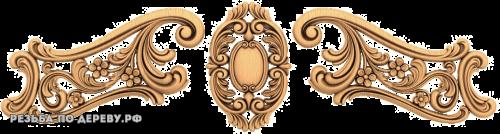 Резной Декор №721 из дерева