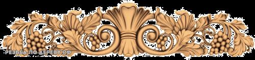 Резной Декор №703 из дерева