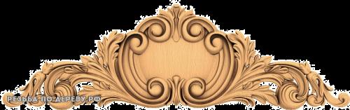 Резной Декор №643 из дерева