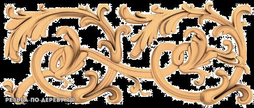 Резной Декор №663 из дерева