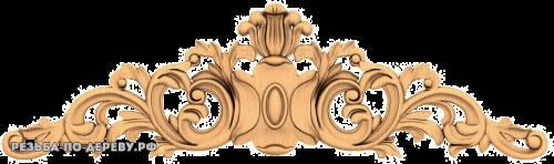 Резной Декор №734 из дерева