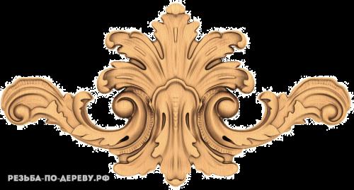 Резной Декор №795 из дерева
