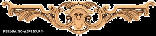 Резной Декор №716 из дерева