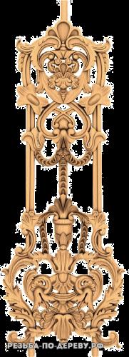 Резной Декор №746 из дерева