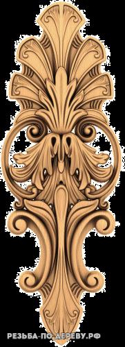 Резной Декор №687 из дерева