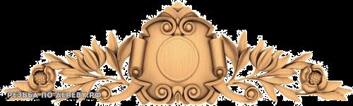 Резной Декор №738 из дерева
