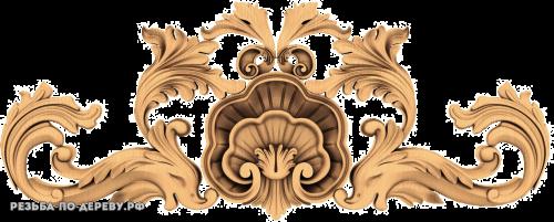 Резной Декор №799 из дерева