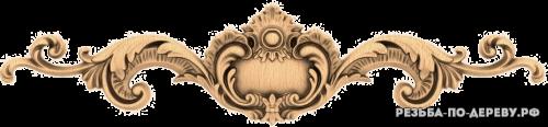Резной Декор №1084 из дерева