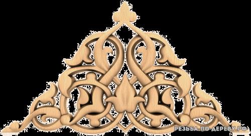 Резной Декор №1164 из дерева