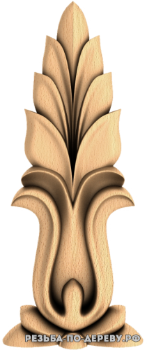 Резной Декор №855 из дерева