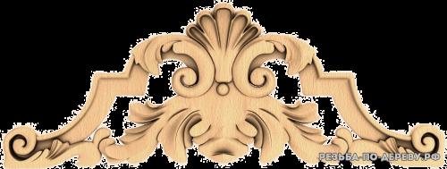Резной Декор №835 из дерева