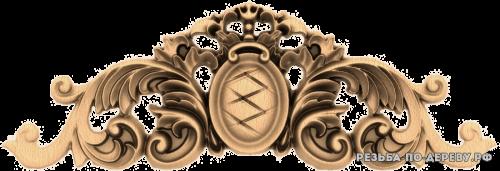 Резной Декор №955 из дерева